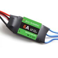 Wholesale BULL RUNNING SIMONK 6A Brushless RC Helicopter ESC Speed Controller For Multicopter from china suppliers