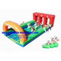 Wholesale Custom Sports Adults / Kids Inflatable Games 10M Length 12 Months Warranty from china suppliers