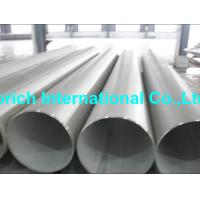 Wholesale High Temperature Chromium Nickel Alloy Tube A358 / A358M Welded Stainless Steel Pipe from china suppliers