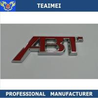 Wholesale 3D ABS Chrome Body Sticker Car Letter Emblems Badge For ABT from china suppliers