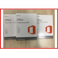 Wholesale Word Excel PowerPoint Microsoft Office 2016 Professional Retailbox English Version from china suppliers