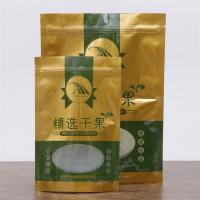 Wholesale Dried Fruits / Rasin Food Grade Packaging Bags Stand Up Ziplock Bags With Clear Window from china suppliers