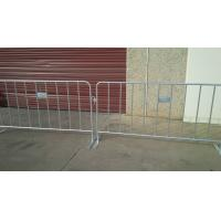 Wholesale flat steel plate crowd control barriers for sale hot dipped galvanized barriers fencing china crowd control fence from china suppliers