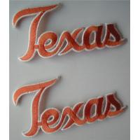 Wholesale Texas Longhorns Vintage Embroidered Iron On Patch from china suppliers