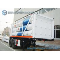 Wholesale High Performance 12 Tubes Containe CNG Tank Trailer ISO11120 / BV from china suppliers