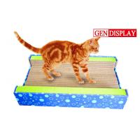 Wholesale Luxury Corrugated Cat Scratcher , Paper Cardboard Cat Sporting Toys from china suppliers