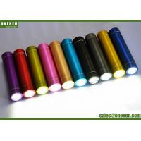 Buy cheap Tube Flashlight Metal Power Bank High Compatibility For Mobile Device from wholesalers