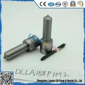 Wholesale Isuzu ERIKC DLLA 158 P 1092 Denso jet spray nozzles DLLA 158P 1092 oil common rail nozzle DLLA 158 P1092 for 095000-6360 from china suppliers