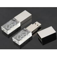 Wholesale Metal High Speed Crystal USB Flash Drive , Crystal Thumb Drive from china suppliers