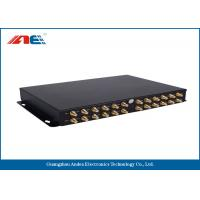 Wholesale High Power RS232 RFID Reader , Ethernet RFID Reader With 24 Channels One GPIO from china suppliers