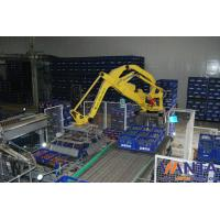 Wholesale Automation PLC Robotic Bag Palletizer , Robotic Palletizing For Cases from china suppliers