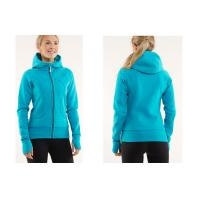 Wholesale Ladies Fitness Blue XS - 5XL 300gsm Cotton Custom Hooded Sweatshirts Children - Adult from china suppliers