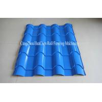Wholesale Glazed steel tile Cold Roll Former machine for manufacturing ceramic tiles from china suppliers
