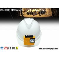 Wholesale 8000 Lux Fire Proof Led Mining Helmet Lamp With 18650 Battery , High Brightness from china suppliers