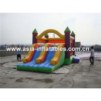 Wholesale Inflatable slide bouncer castle obstacle combo sport from china suppliers