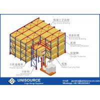 Wholesale Heavy Duty Industrial Shelving , High Density Racking System For Warehouse from china suppliers