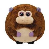 Quality 25cm Round Shape Animal Promotional Gifts Toys Green / Brown / Grey Color for sale
