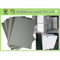 Wholesale Smooth Surface Grey Back Duplex Board Thick Cardboard Sheets For Small Boxes from china suppliers
