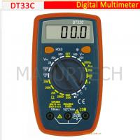 Wholesale 3 1/2 Digital Multimeter 200mV-500V DT33C from china suppliers