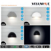 Wholesale VELLNICE latest design IP65 Waterproof LED wall lamp half ball shaped can be charged pured aluminum body from china suppliers