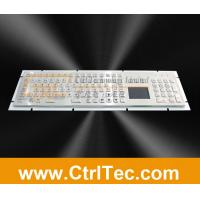 Wholesale metal kiosk keyboard with touchpad and numeric keypad from china suppliers