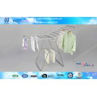 Wholesale Stand Steel Metal Pipe Portable Clothes Hanger Rack for Bedroom and Garden Use from china suppliers