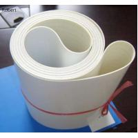 Quality White Color Vertical Industrial Conveyor Drive Belts Polyurethane Material for sale