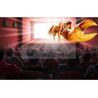 Wholesale Amazing Indoor 4D cinema system with Flat / Arc / Circular Silver Metal Max Movie Theater Screens from china suppliers