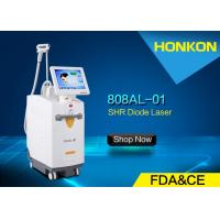 Wholesale Painless 808nm Diode Laser For Hair Removal , Chest Hair Removal Machine shr from china suppliers