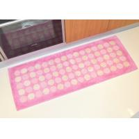 Wholesale Durable Anti slip shockproof Acrylic Floor Mat , comfortable washable kitchen rugs from china suppliers