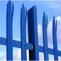 Wholesale steel galvanized palisade fence from china suppliers