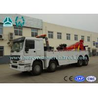 Quality Hydraulic System Fast Speed Rotatable HOWO Recovery  Truck Low Fuel Consumption for sale