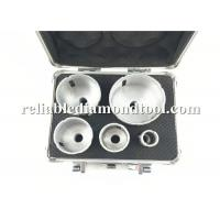 Wholesale 5 PCS Diamond Drill Bit Silvery Golden Double Colors Kit Working Speed 10000 -14000 RMP from china suppliers