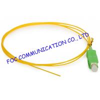Wholesale SC / APC Corning optical fiber pigtail SM Hytrel Low Insertion Loss For ODF from china suppliers