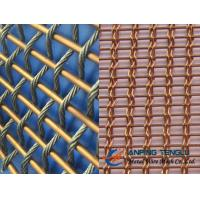 Wholesale Copper Facade Mesh With Copper Rods and Copper Cable, Building Decoration from china suppliers