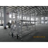 Buy cheap Safe Helicopter Maintenance platforms / Portable Scaffold with aluminum alloy tubes and castings from wholesalers