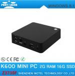 Wholesale Mini PC Windows 8.1 2GB 16GB Intel Z3735F Quad Core Activated Windows with bing Mini PC from china suppliers