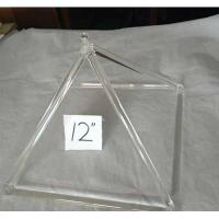 Wholesale Professional supplier of crystal singing pyramid from china suppliers