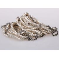 Wholesale Multi Strand Delicate Fashion Faux Pearl Bracelets Costume Jewellery For Wedding from china suppliers