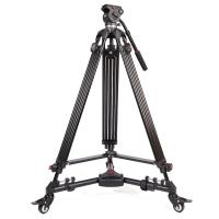 Wholesale Professional Video Camera Tripods Dslr Camera Tripod 65mm Ball Diameter from china suppliers