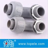 Quality PVC Plastic Flexible Conduit And Fittings Nonmetallic Seal Tight Connectors for sale