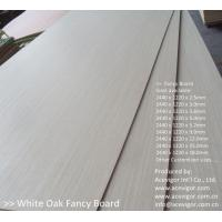 Wholesale White Oak Fancy Plywood 1220 x 2440mm from china suppliers