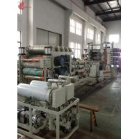 Wholesale High Speed Pvc Calendering Machine , Pvc Film Calender Machine Smooth Running from china suppliers