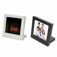 Buy cheap Mirror clock DVR with 1280 x 960 pixels high resolution and motion detective from wholesalers