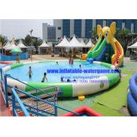 Wholesale Backyard Amusement Inflatable Water Slide Park Durable 12 Months Warranty from china suppliers