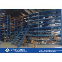 Wholesale Multi Level Rack Supported Mezzanine Powder Coated For Large Area Warehouse Storage from china suppliers