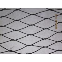 Wholesale Black Oxide Stainless Steel 316 Wire Rope Zoological Enclosure Mesh from china suppliers