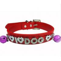 Wholesale custom letter alphabet pet collar for dog & cat from china suppliers