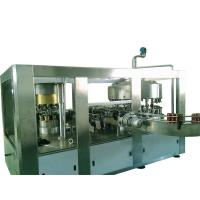 SS304 Aluminum Can / Beer Can Filling Machine For Carbonated Cola , Soft Drink