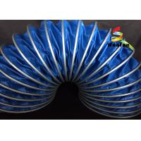 Wholesale High Temp 125mm HVAC Flex Duct PVC Flame Proof Environmental Friendly from china suppliers
